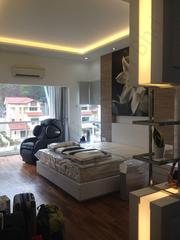 LED strip lighting for a master bedroom