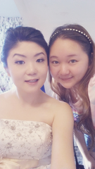 Me (Berry) and my bride, tien nee