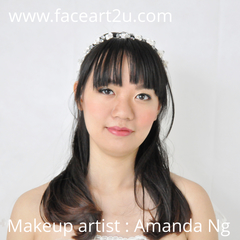 Bridal Day Make up by student