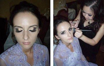 Assigned make up artist for royalty wedding