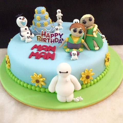 Frozen Fever Crossover Baymax Theme