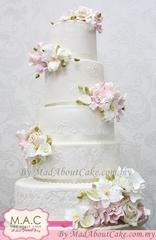 Garden Concept wedding cake