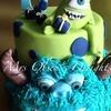 3D themed cake