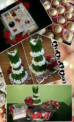 Engagement trays decoration