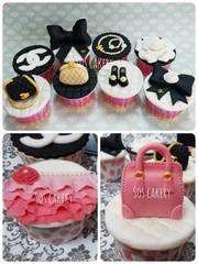 Medium chanel cupcakes