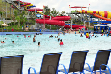 Medium legoland water park lego wave pool