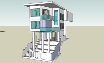 Explaning design idea through 3D modelling