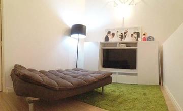 minimalist - family lounge