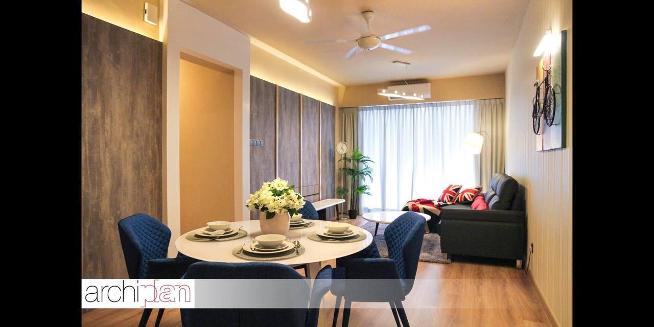 Apartment Design by Archiplan Interior Design - - Recommend.my