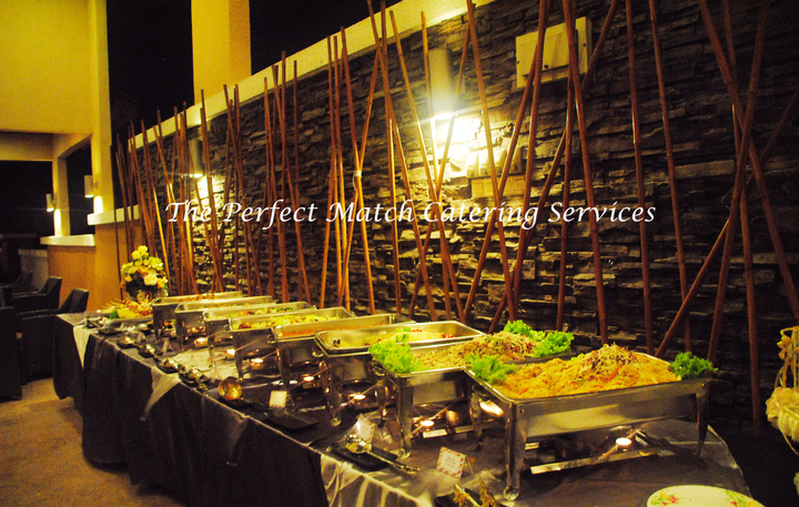 Oriental Buffet Setting
