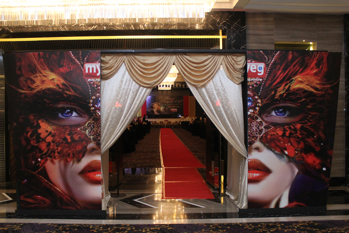 Hall decoration, event planner