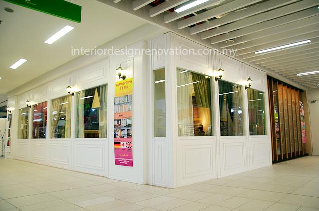 Artz radius interior design renovation for Retail exterior design
