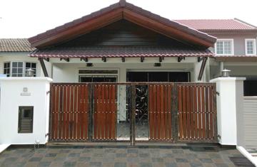 Medium front exterior