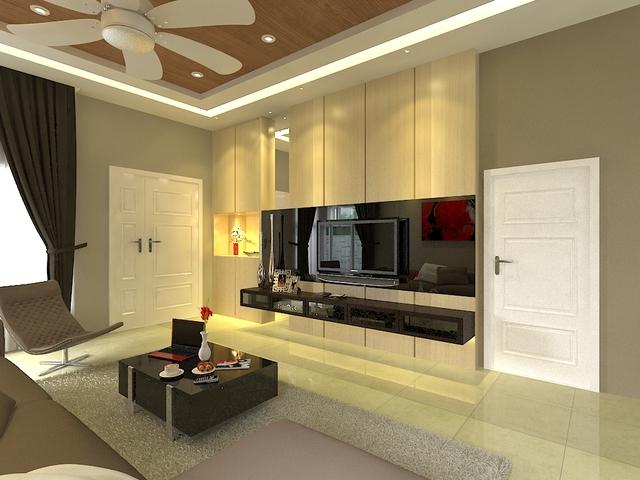 TV console cabinet