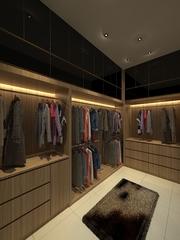 Walk-in cabinet