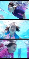 Medium baby swimming class