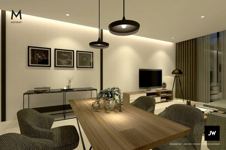 3D Interior Design View