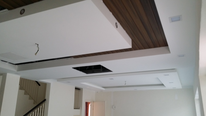 Plaster ceiling works