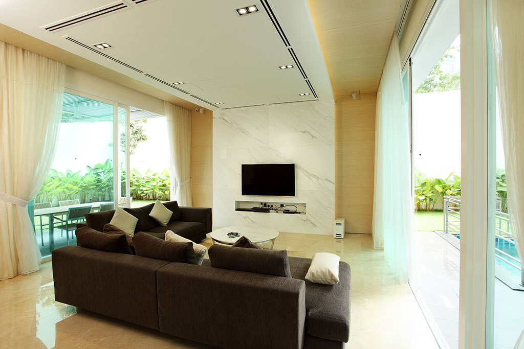 Resident bungalow mont kiara by hatch interior studio for Room interior design sdn bhd