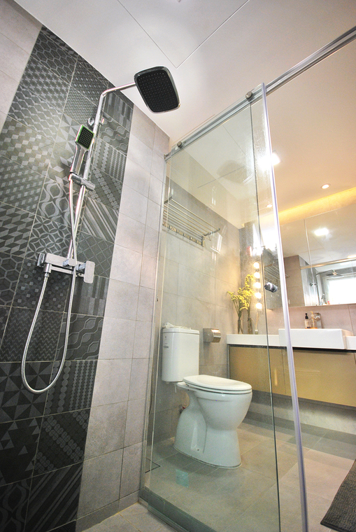 Resident - Condo @ Casa Tropica by Hatch Interior Studio Sdn Bhd - Condo / Apartment Modern Contemporary Bathroom Living Kitchen Bedroom Study / Office - Recommend.my