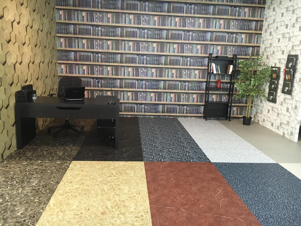 Wall Decoration / Wallpaper by Floor World Cheras - 3D Print Wallpaper Catalog Pattern Wood Brick Stone Custom - Recommend.my