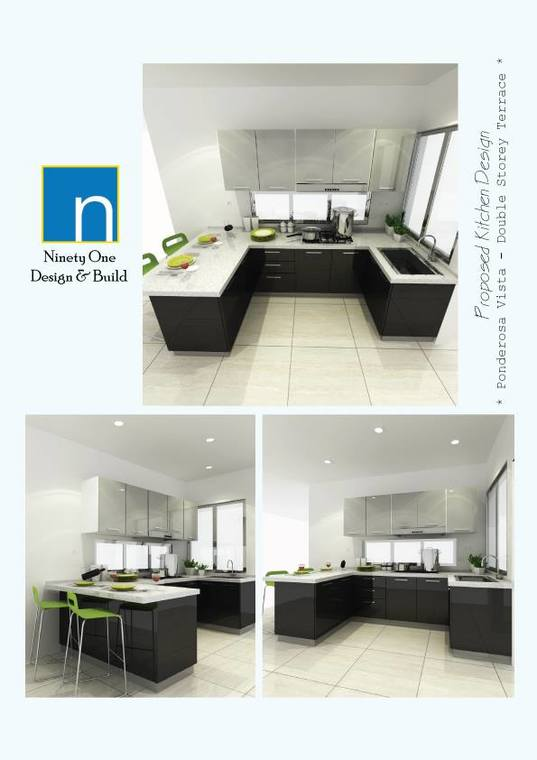 Ponderosa Vista Kitchen Cabinet Design Johor Bahru