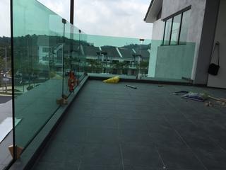 Nilai - Balcony Frameless temper glass