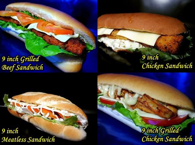 The Sandwich by Haie