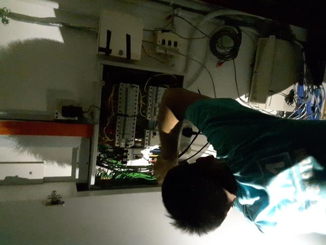 Troubleshooting 3 phase wiring break down