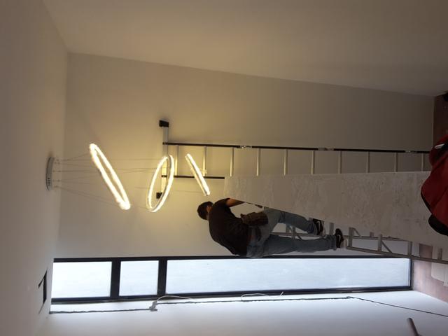 Pendant light install @ bungalow