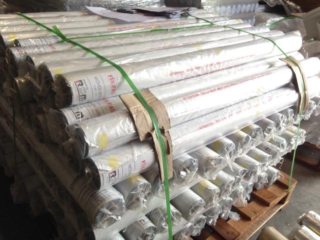 Woven Aluminium Foil - Medium duty with radiant heat reflectivity of 97%