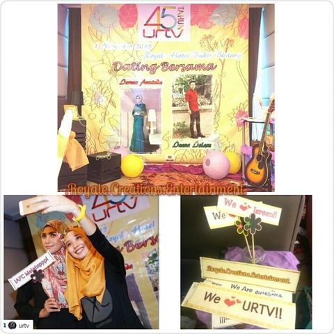 Photobooth Corner for URTV anniversary Celebrations