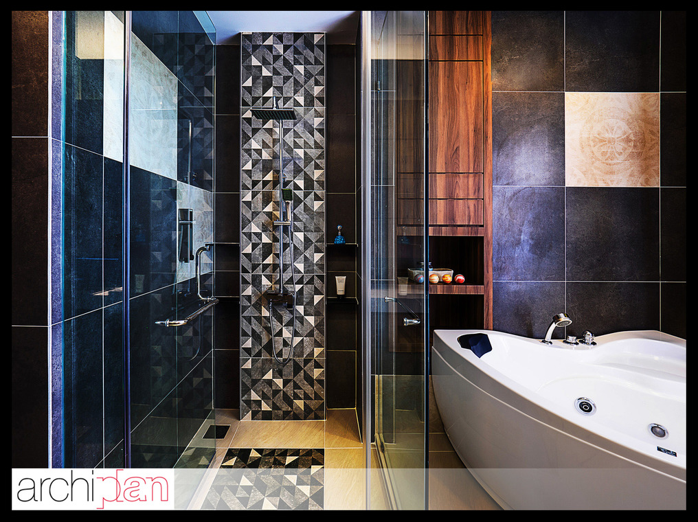 Residential - Pent house, Quay Side E&O, Penang. by Archiplan Interior  Design -