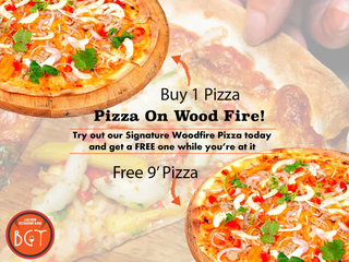Pizza On Wood Fire