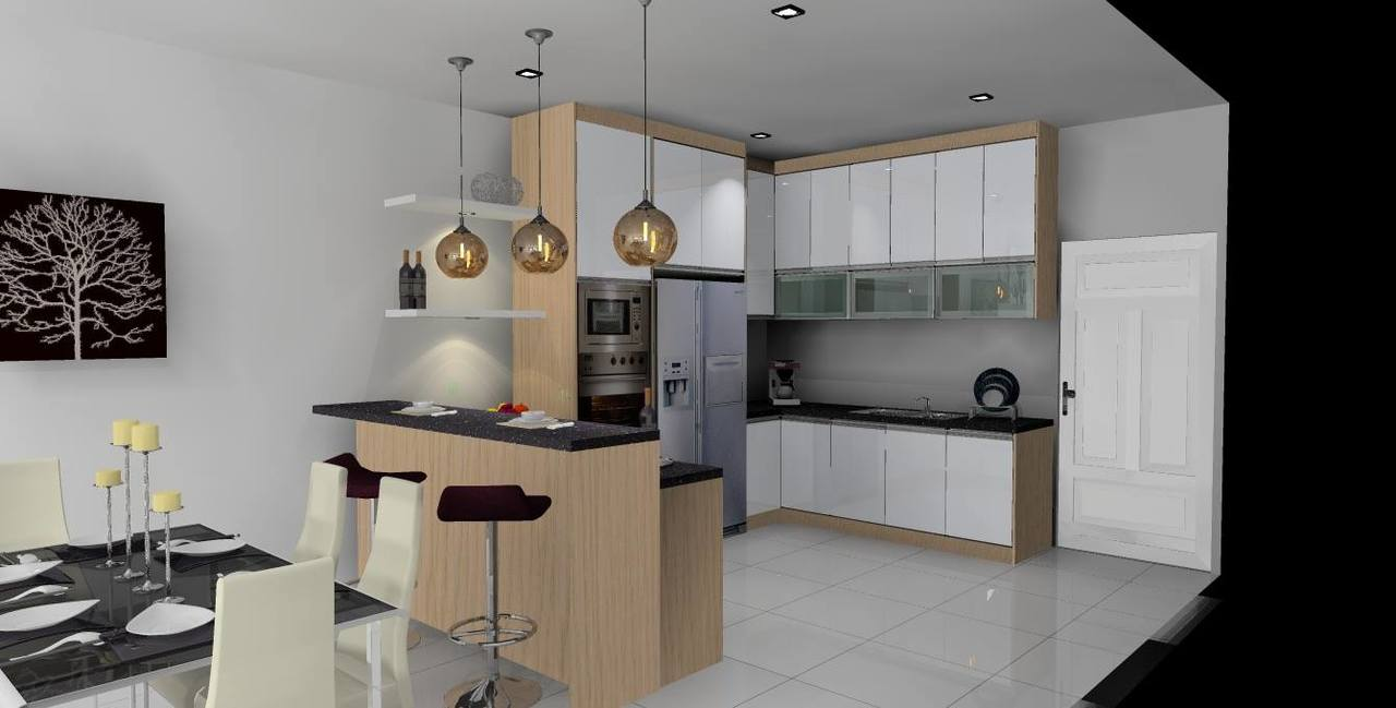 kitchen cabinet by ab kitchen cabinet solutions   completed cabinet wardrobe flat minimalistic modern wooden glossy kitchen cabinet by ab kitchen cabinet solutions   recommend my  rh   recommend my