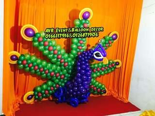 Stage &entranceballoon piller