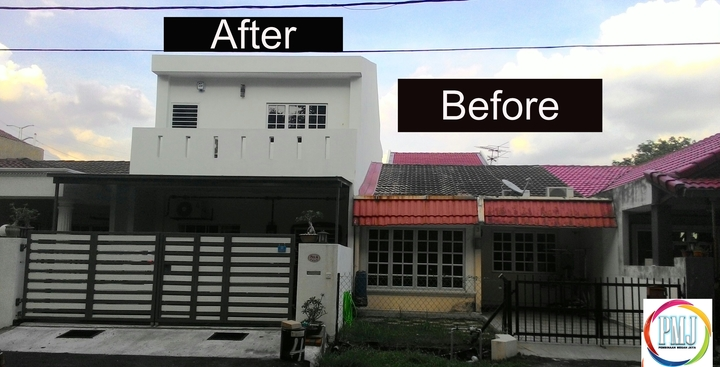 Rebuild house