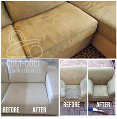 Medium before after sofa