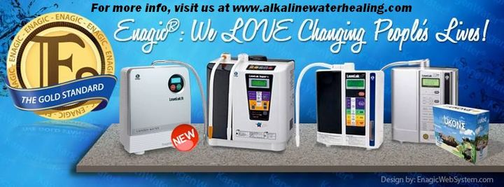 Our Leveluk Series of Medical Grade Water Ionizers!