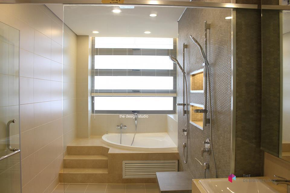 DenaiAlam Semi-D Corner Unit,Shah Alam by The Design Studio - Living Dining Modern Contemporary Completed Bathroom Bedroom Wardrobe Patio Kitchen Living Room Garden - Recommend.my