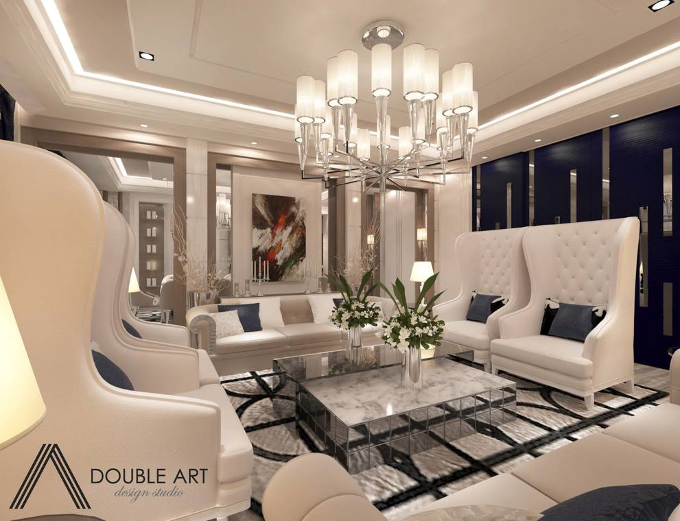Madge Mansions, Ampang Hilir by Double Art Design Studio - Concept Above 2400 sqft Modern Classic Living Room Dining Kitchen Cabinet Condo / Apartment - Recommend.my