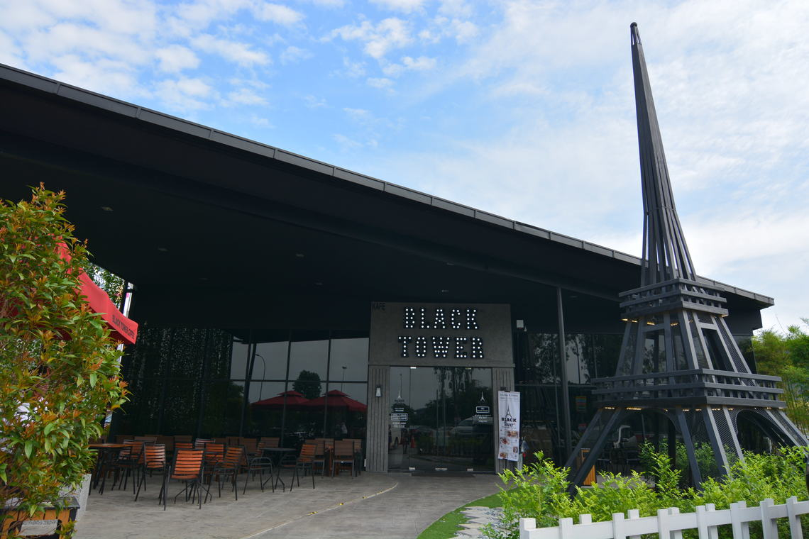 Black Tower Coffee, Cheras by Young Concept Design Sdn Bhd - Completed Above 2400 sqft Shop / Retail / F&B Contemporary Rustic - Recommend.my