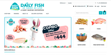 Daily Fish - Home Page
