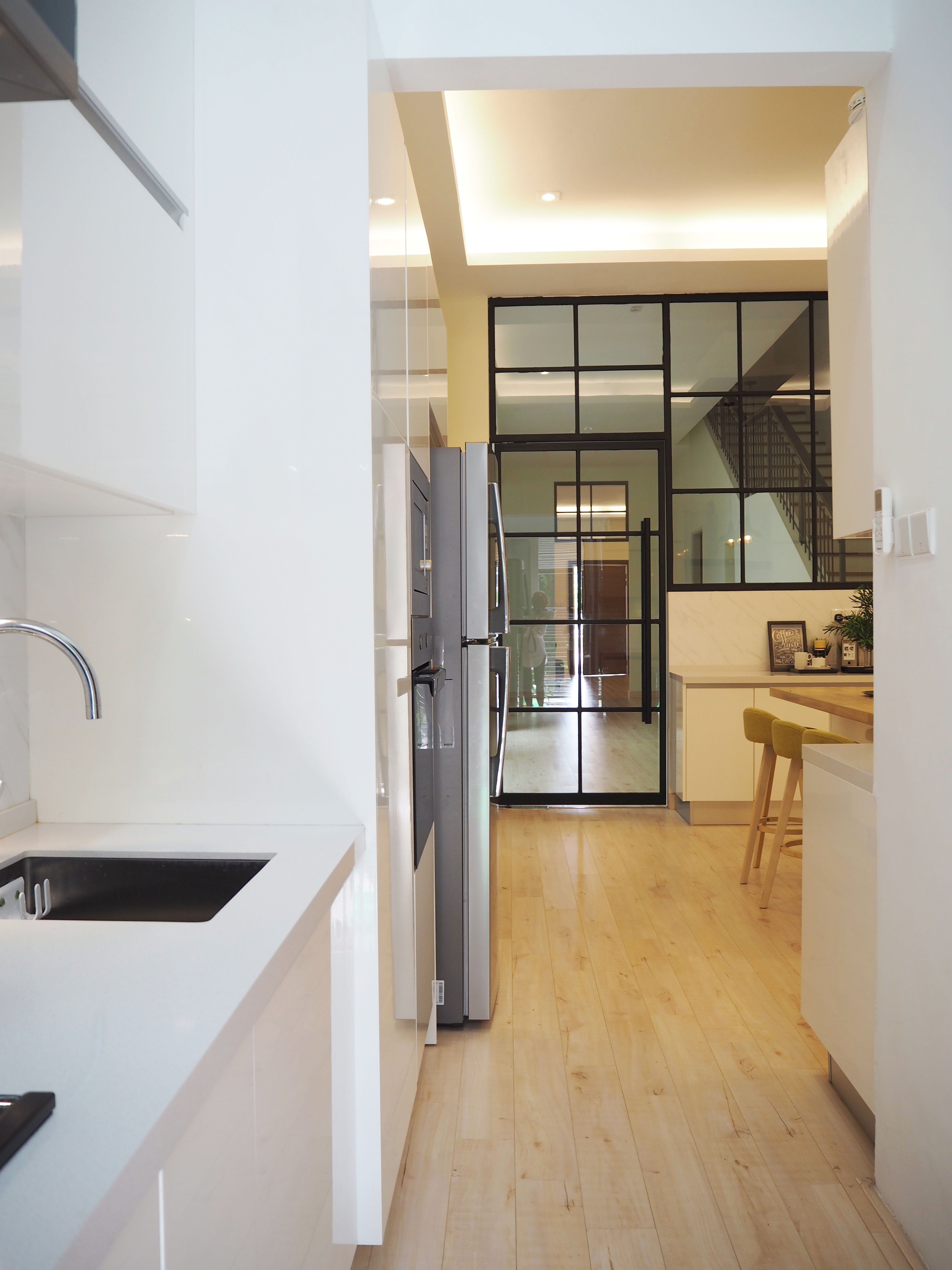 Superlink Terrace at Temasya Citra, Glenmarie by Meridian Inspiration Sdn Bhd - Link house / Townhouse Scandinavian Modern Bedroom Bathroom Kitchen Dining Above 2400 sqft - Recommend.my