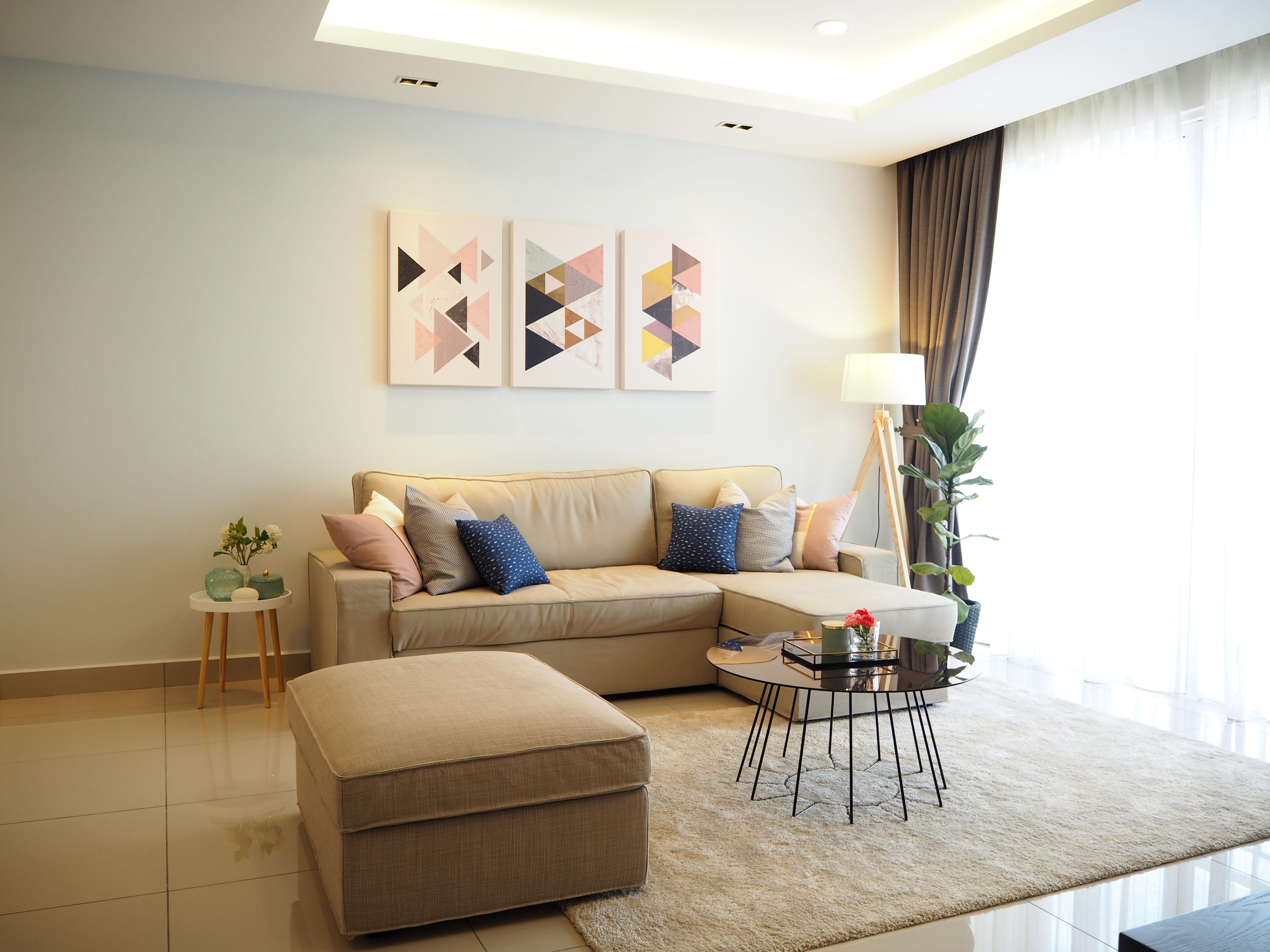 Modern living room  design   styling 1