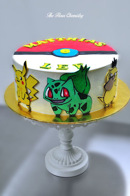 Pokemon Birthday Cakes By The Flour Chemistry Recommend