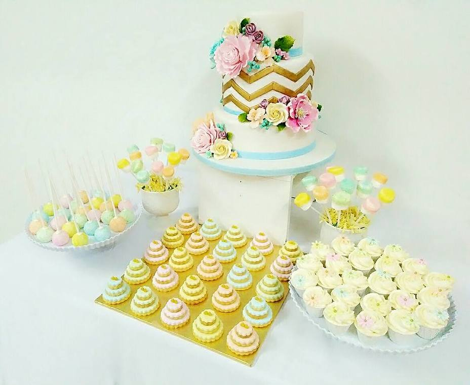 Pastel & Gold ROM by Eats & Treats Bakery   Recommend.my