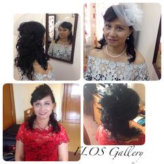 mothers makeup & hairdo