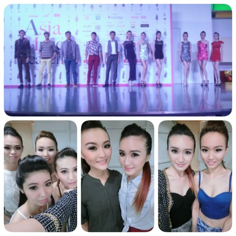 Fashion Show Group Makeup & Hairdo