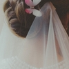 New idea introduced by client :D Great way to wear your veil and not cover your beautiful hairstyle